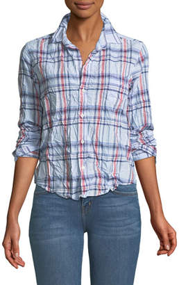 Frank And Eileen Barry Long-Sleeve Cotton Plaid Button-Down Shirt