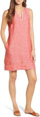 Tommy Bahama Sea Glass Linen Shift Dress