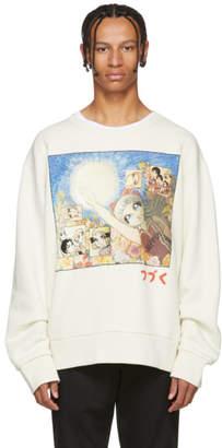 Gucci White Manga Sweatshirt