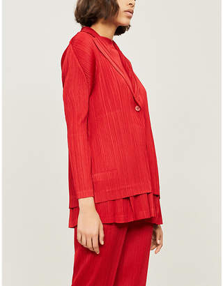Pleats Please Issey Miyake Monthly pleated jacket