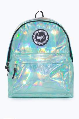 Hype Girls Holographic Backpack - Green