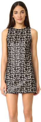 alice + olivia Clyde Sequin Shift Dress $330 thestylecure.com