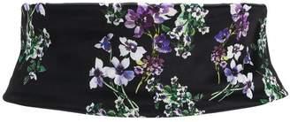 Blumarine floral sash belt
