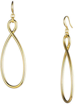 Trina Turk GOLDEN WAVE FRENCH WIRE EARRING