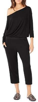 Michael Stars Cropped Knit Jumpsuit