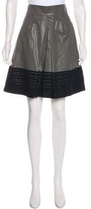 Robert Rodriguez Knee-Length A-Line Skirt