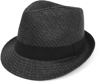 7993df80976 West End Men   Women Summer Short Brim Fedora Hat