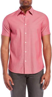 Ben Sherman Pindot Short Sleeve Sport Shirt