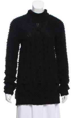 Prabal Gurung Textured Wool Sweater