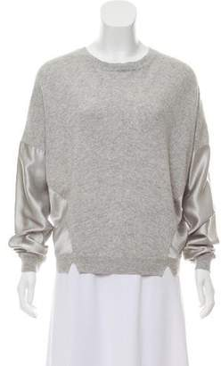 Amanda Wakeley Cashmere Silk-Accented Sweater