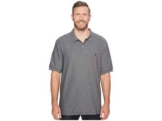 Nautica Big Tall Anchor Solid Deck Shirt