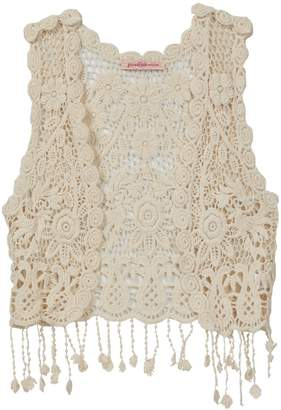 Paulinie Crochet Vest (Little Girls)