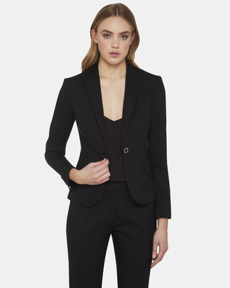 Oxford Pixie Wool Stretch Suit Jacket