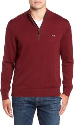 Vineyard Vines Palm Beach Quarter-Zip Sweater