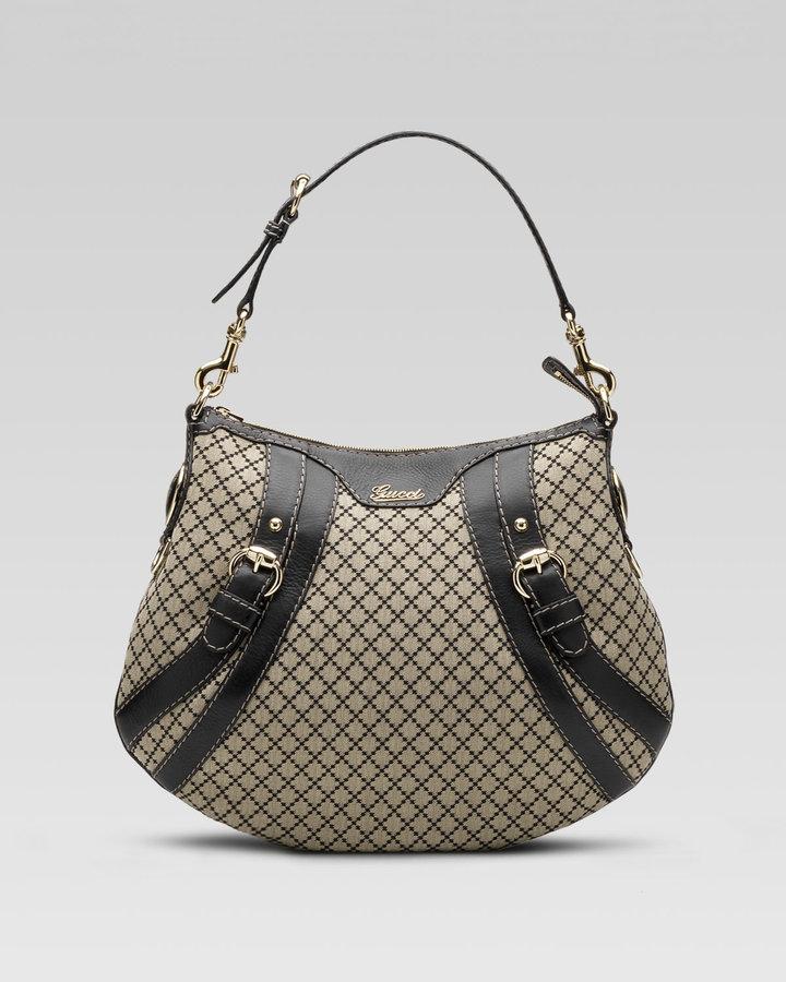 Gucci Crest Boule Hobo