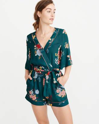Abercrombie & Fitch Kimono Mini Romper