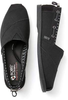 Penningtons Wide-Width Nautical Slip-On Shoes - BOBS from Skechers