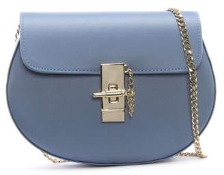 Daniel Affect Blue Satin Shoulder Bag