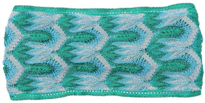 Missoni Two Tone Lace & Lurex Headband