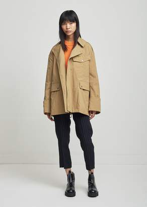 Isabel Marant Lorenzo Short Trench Coat Ficelle