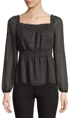 Highline Collective Peasant-Sleeve Empire Blouse