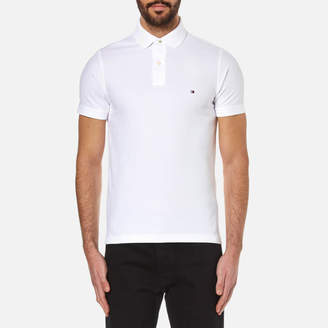 Tommy Hilfiger Men's Slim Fit Small Logo Polo Shirt