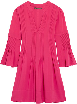 Vix Ruby pleated voile coverup $158 thestylecure.com