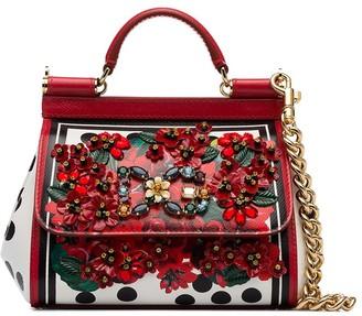 Dolce & Gabbana Sicily mini floral tote