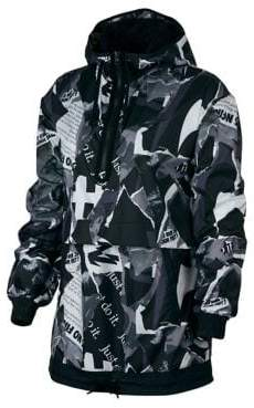 Nike Printed Long-Sleeve Jacket