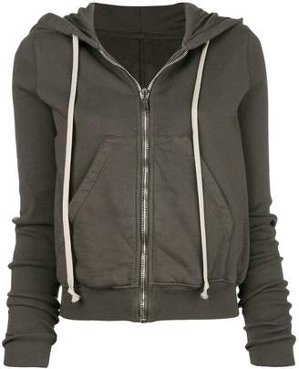 Rick Owens Hooded zip front jumper