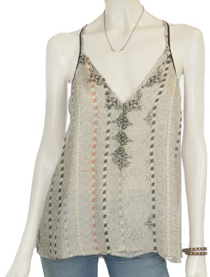 Twelfth St. by Cynthia Vincent Camisole With Beading