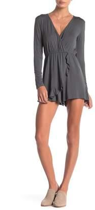 Anama Long Sleeve Knit Romper