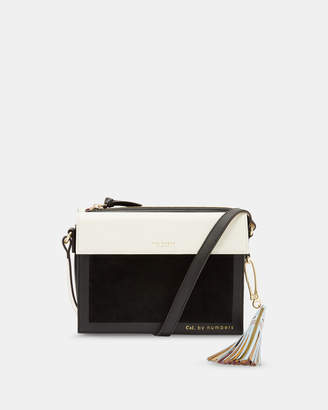 Ted Baker GLACIAL Leather cross body bag
