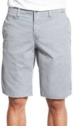 Men's Original Paperbacks 'St. Barts' Raw Edge Shorts $95 thestylecure.com