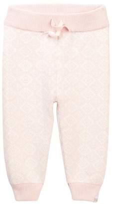 Rosie Pope Tonal Cat Pants (Baby Girls)