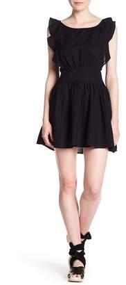 Free People Collette Linen Blend Dress