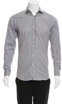 Ralph Lauren Black Label Striped Button-Up Shirt