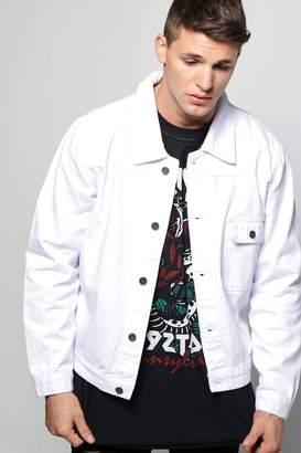 boohoo Oversized Box Fit Denim Jacket