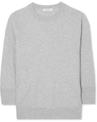 Equipment Desi Cotton And Cashmere-blend Sweater - Gray