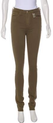 Thomas Wylde Mid-Rise Skinny Jeans w/ Tags Olive Mid-Rise Skinny Jeans w/ Tags