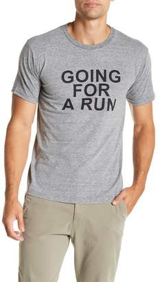 Altru Going For A Run Graphic Print Tee