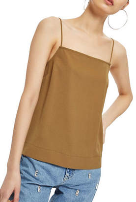 Topshop Square Neck Cami Top