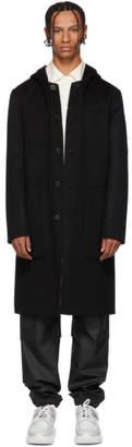 Fendi Reversible Black Wool Forever Coat