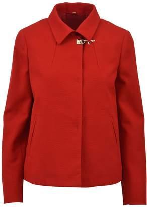 Fay Short Jacket Red