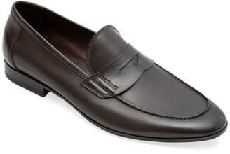 Paul Stuart Men's Harlan Leather Penny Loafers