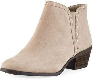 05054df5a530 ... Sam Edelman Phyllis Studded-Trim Faux-Suede Booties