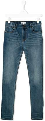 Burberry TEEN stretchy skinny jeans