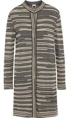 M Missoni Metalic Crochet-Knit Jacket
