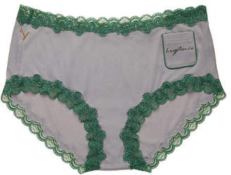 Uwila Warrior Sayings Pocket Soft Silks Bikini Briefs