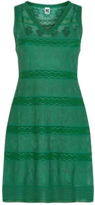 M Missoni Tonal Motif Mini Dress